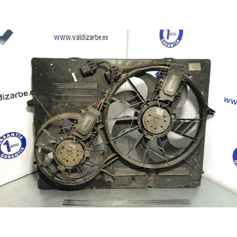 Recambio de electroventilador para volkswagen touareg (7la) tdi r5 referencia OEM IAM 7L0121203F