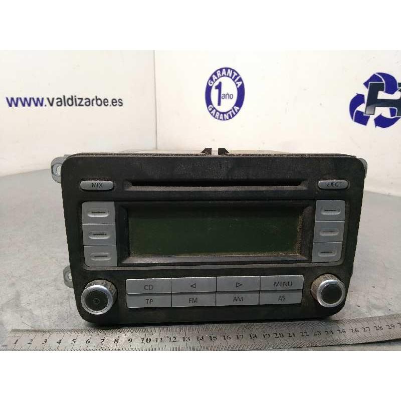 Recambio de sistema audio / radio cd para volkswagen passat berlina (3c2) trendline referencia OEM IAM 1K0035186T