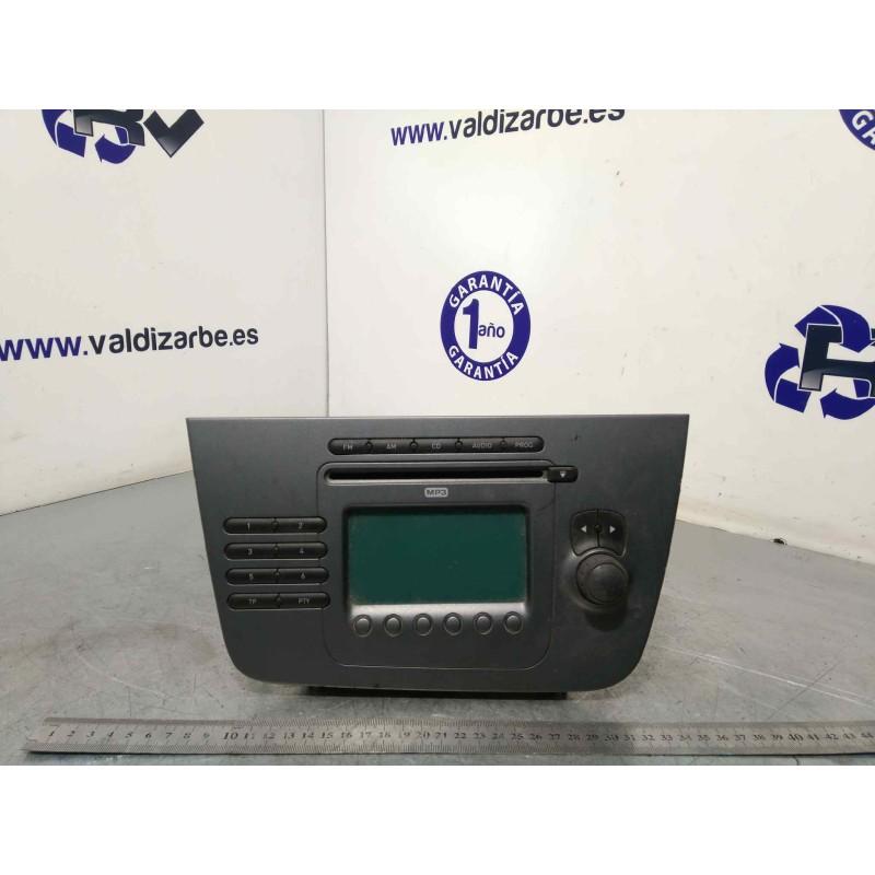Recambio de sistema audio / radio cd para seat toledo (5p2) referencia OEM IAM 5P1035186