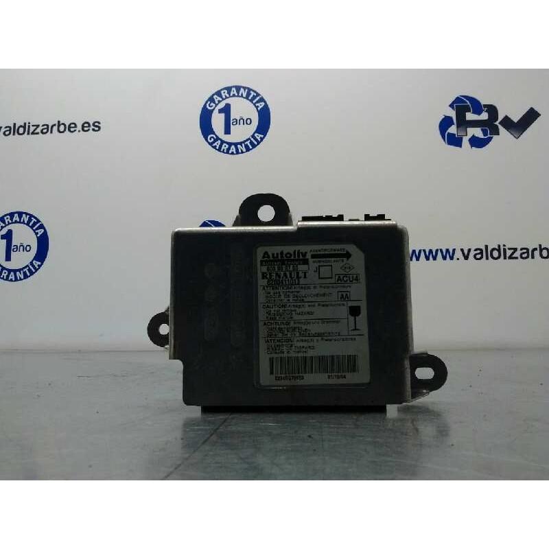 Recambio de centralita airbag para renault scenic ii confort dynamique referencia OEM IAM 8200411013  603989700
