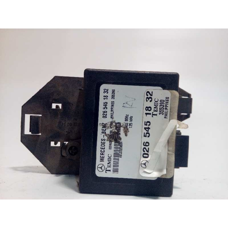 Recambio de centralita inmovilizador para mercedes vito marco polo (638) 110 cdi referencia OEM IAM 0265451832