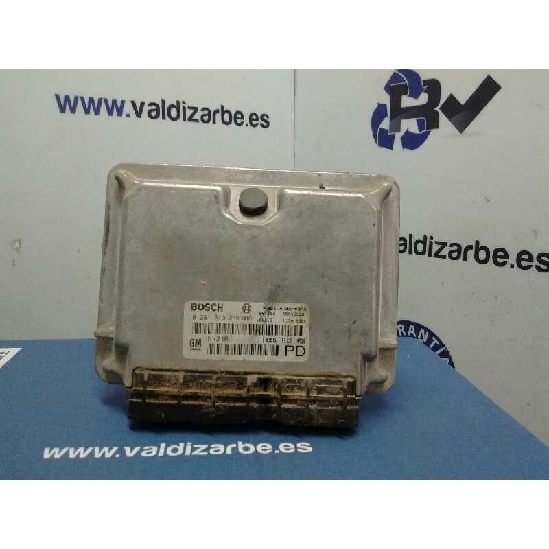 Recambio de centralita motor uce para opel zafira a comfort referencia OEM IAM 24417169  0281010268