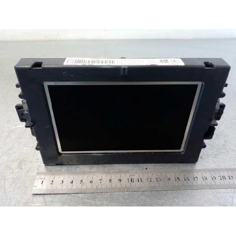 Recambio de pantalla multifuncion para mercedes clase m (w166) ml 350 bluetec (166.004) referencia OEM IAM A1729008600