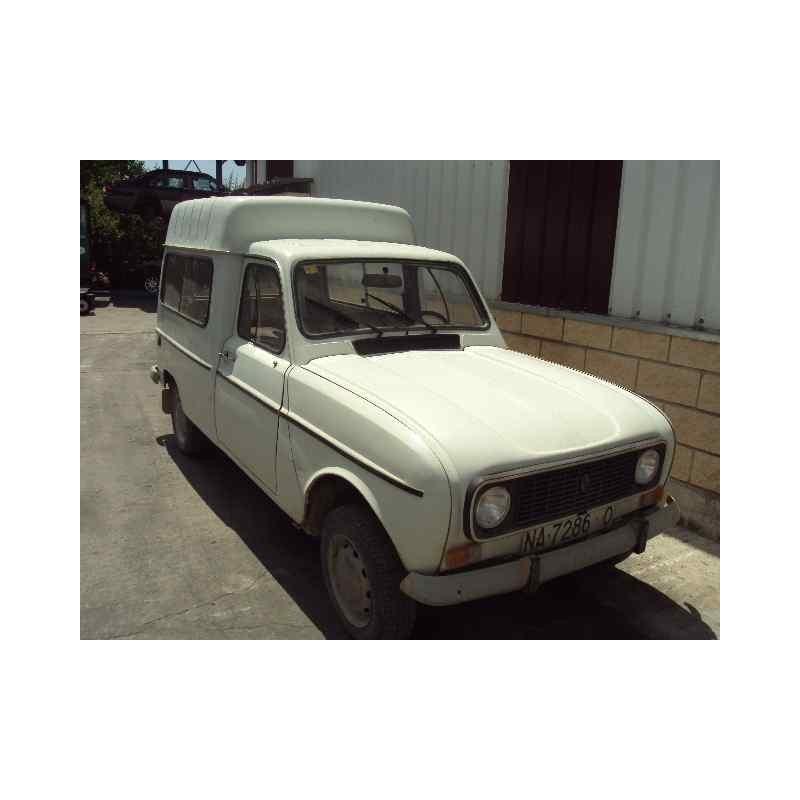 renault 4 berlina/familiar/furgoneta del año 1976