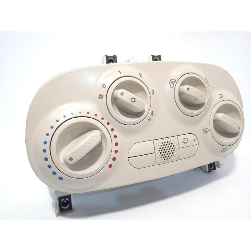 Recambio de mando calefaccion /  aire acondicionado para fiat 500 1.2 referencia OEM IAM 98619168  735539282
