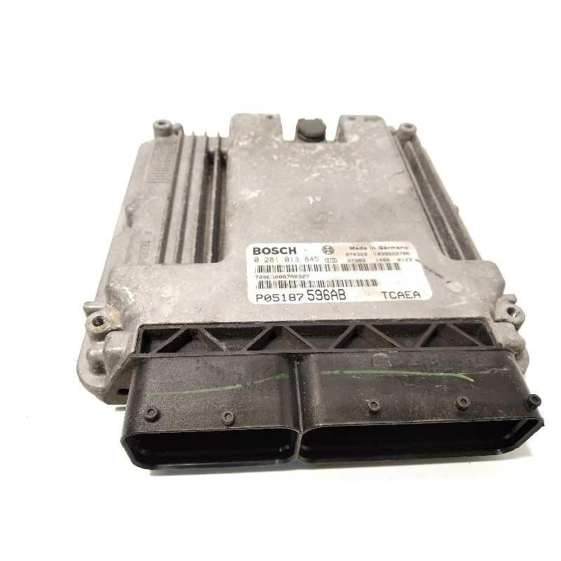 Recambio de centralita motor uce para jeep patriot limited referencia OEM IAM P05187596AB  0281013845