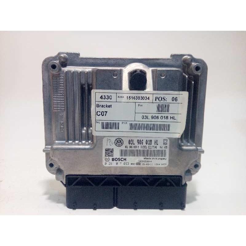 Recambio de centralita motor uce para seat alhambra (710) reference referencia OEM IAM 03L906018HL 03L906018M 0281017093