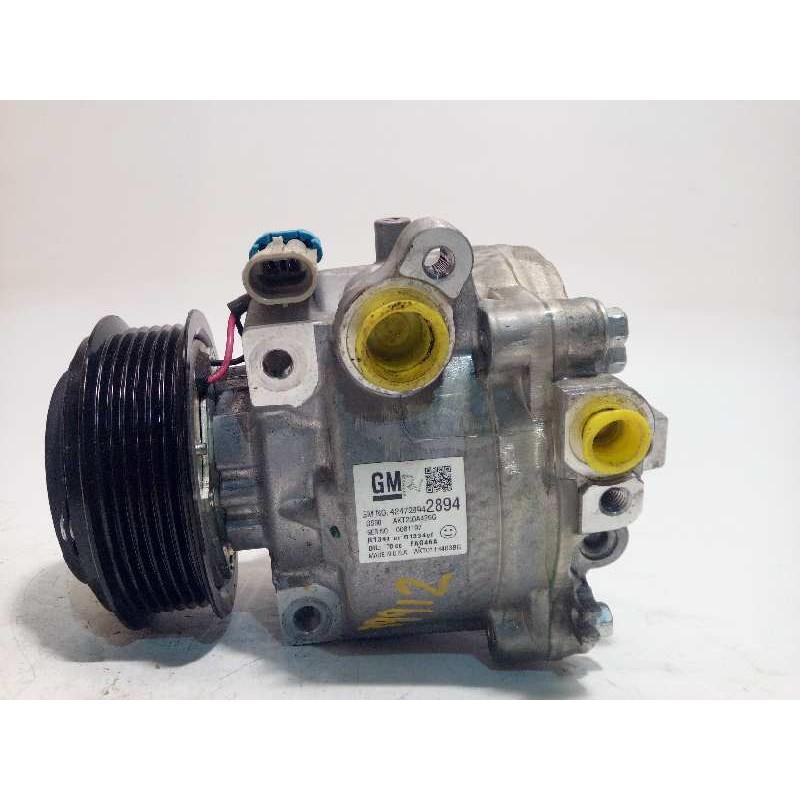 Recambio de compresor aire acondicionado para opel mokka x selective start/stop referencia OEM IAM 42472894