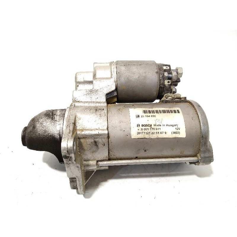 Recambio de motor arranque para opel mokka x 1.4 16v turbo referencia OEM IAM 25194650  0001170611