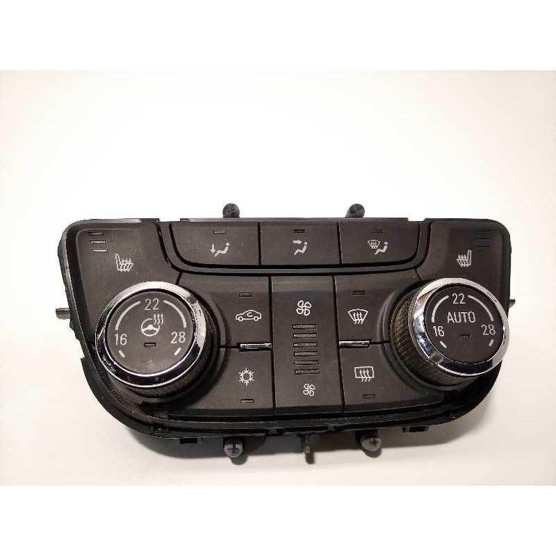 Recambio de mando climatizador para opel mokka x 1.4 16v turbo referencia OEM IAM 39081560