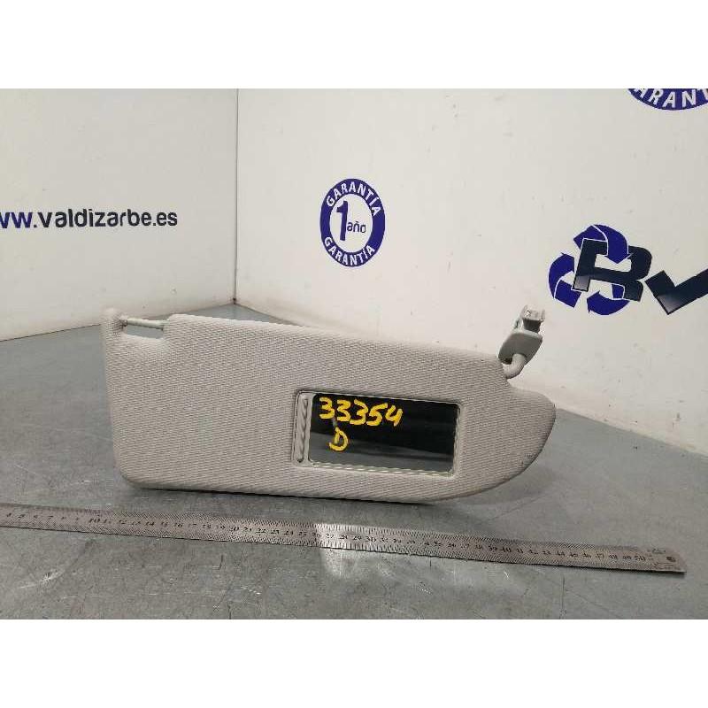 Recambio de parasol derecho para seat ibiza sc (6j1) stylance / style referencia OEM IAM 6L0857552C