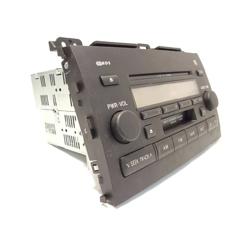 Recambio de sistema audio / radio cd para toyota land cruiser (j12) 3.0 turbodiesel referencia OEM IAM 8612060510