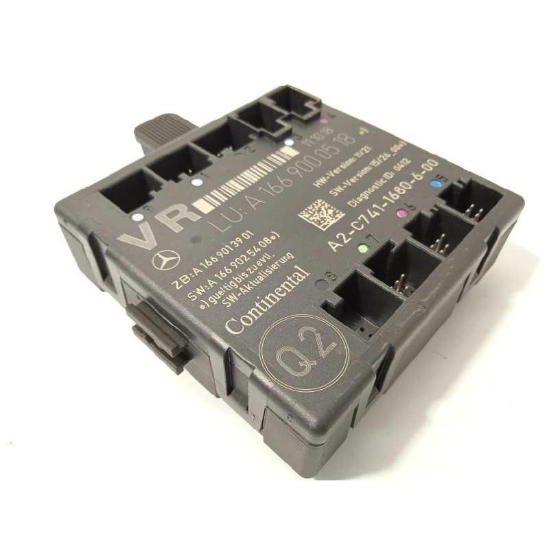 Recambio de centralita confort para mercedes clase gla (w156) gla 180 (156.942) referencia OEM IAM A1669000518  A2C7411680600
