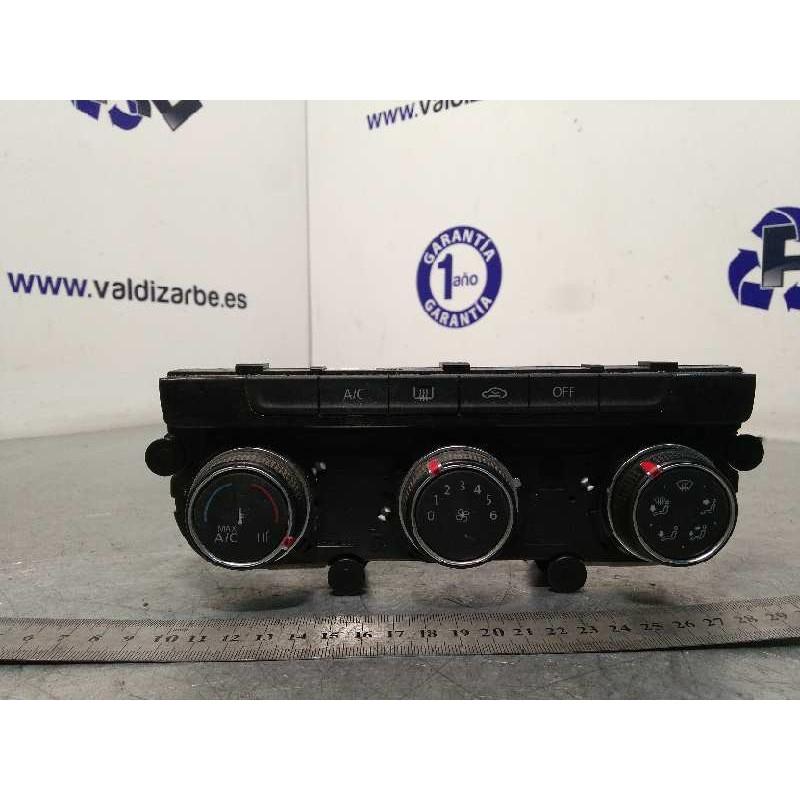 Recambio de mando climatizador para volkswagen golf vii lim. sport bluemotion tech. referencia OEM IAM 5G0907426AJ  5HB01266530