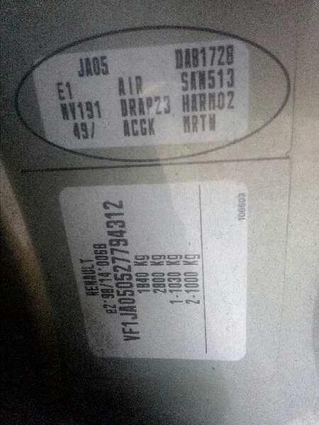 Door-Rear-Right-91159989-5886645-For-Vauxhall-Opel-Vivaro-Van-Combi-07-2006 thumbnail 5